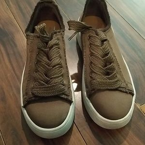 Brown Mossimo sneakers